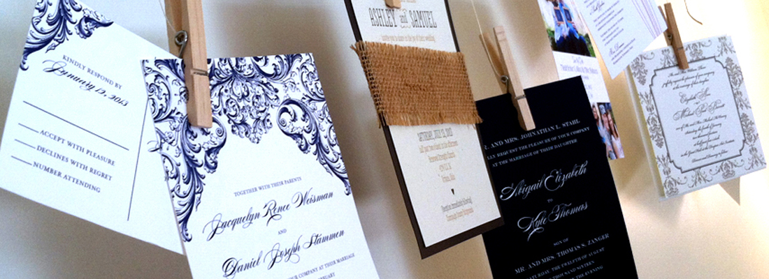 Invitations + Design