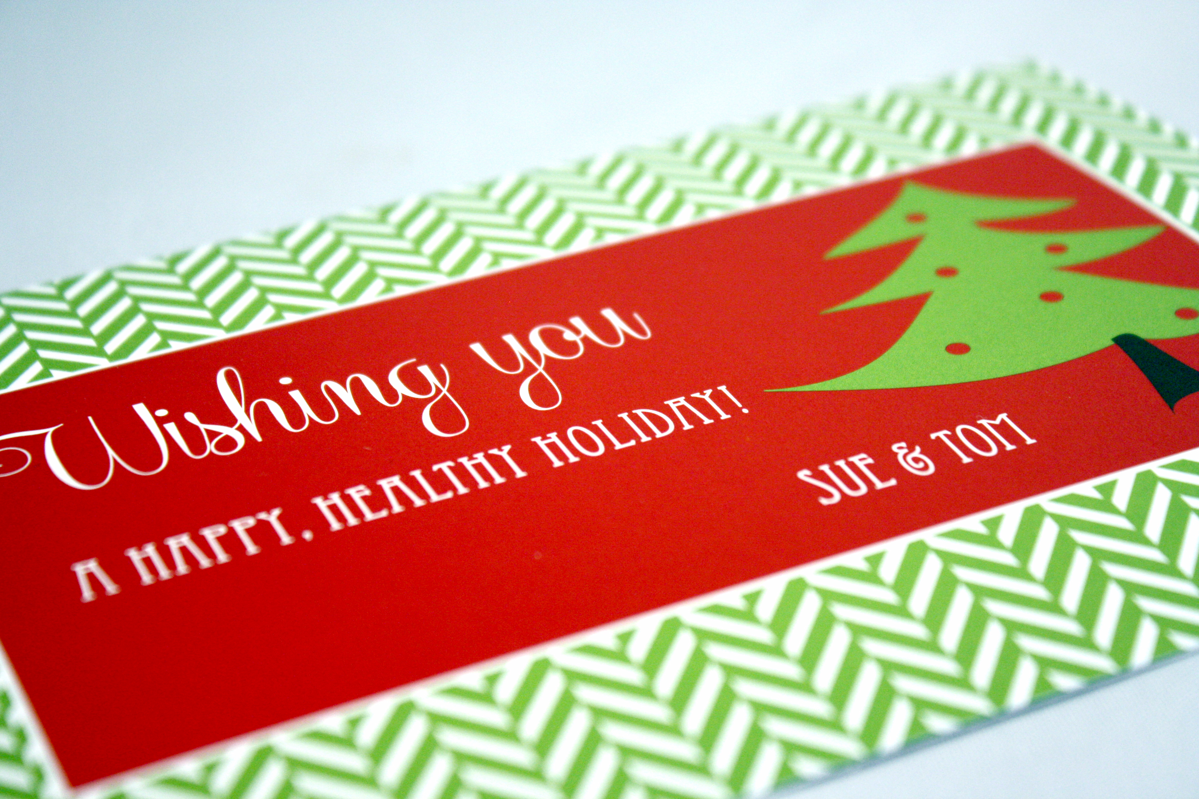 Gift Tag Post Card