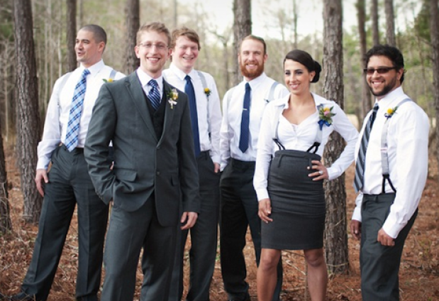 Bridesmen and Groomsmaids: Not Your Mother's Bridal Party