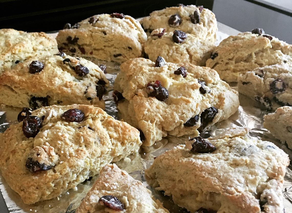 Some days you need scones