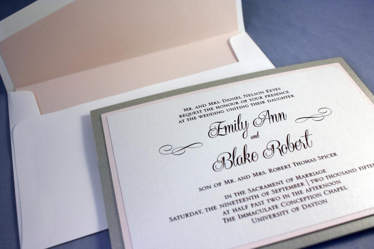 Wedding Invitations – The Envelope